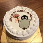 バースデイケーキのキャラクター!