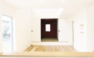 ≪2/6-7≫和室につながる広々LDK。家族の動線を1Fに集約したZEHの家見学会