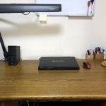 机の上の収納